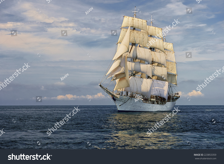 sailing ship series ships yachts stock photo 223853359 shutterstock