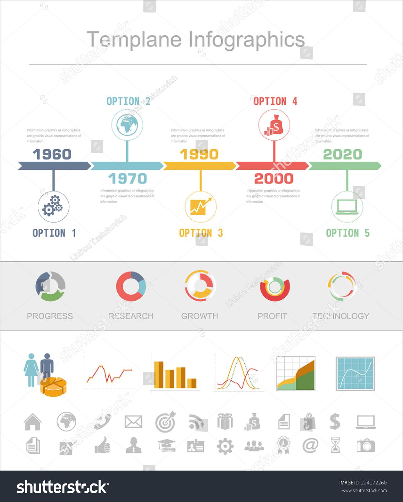 Business Timeline Infographics Vector Design Template ...