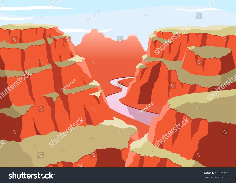 grand canyon national park arizona united stock vector Cartoon Plateau clipart plateau repas