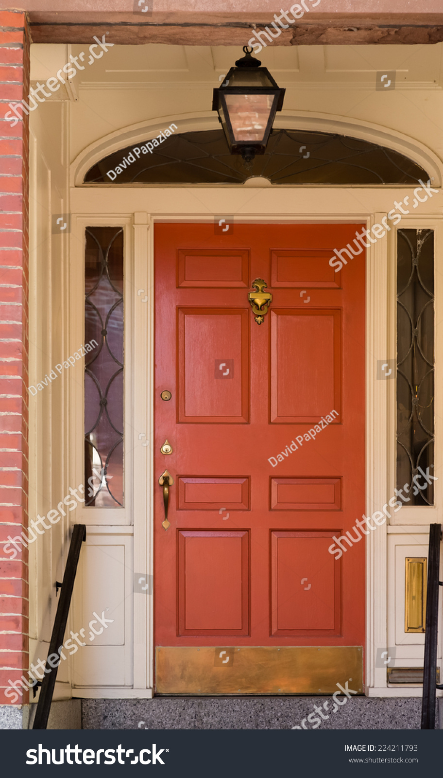 Brick Door Frame Metal Fire Door Repair And Installation