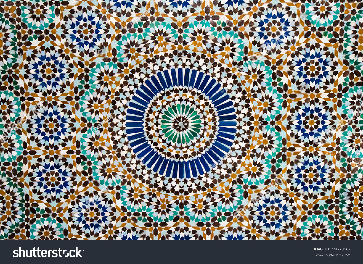 moroccan tile background stock photo 224273662 shutterstock