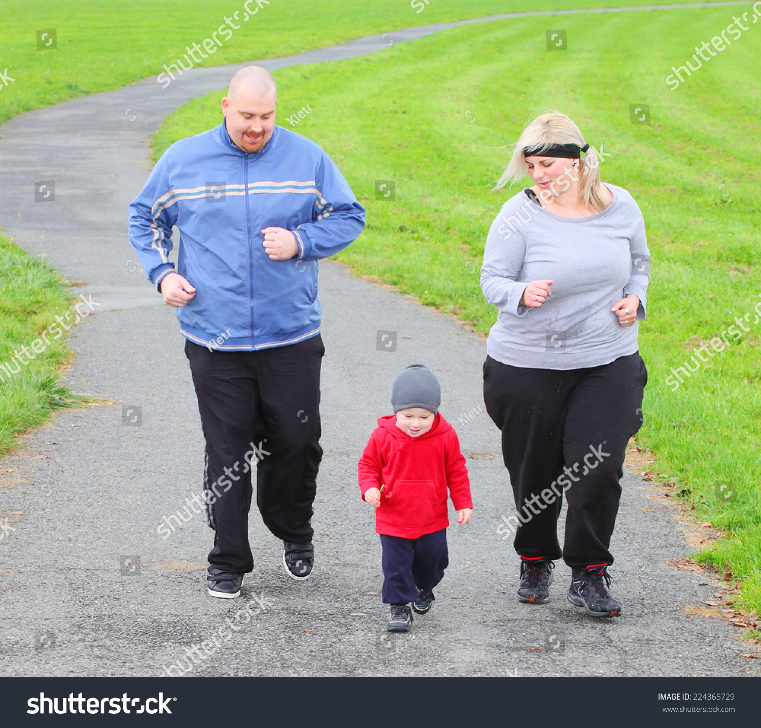 Are overweight people worse parents?   Overweight Dad
