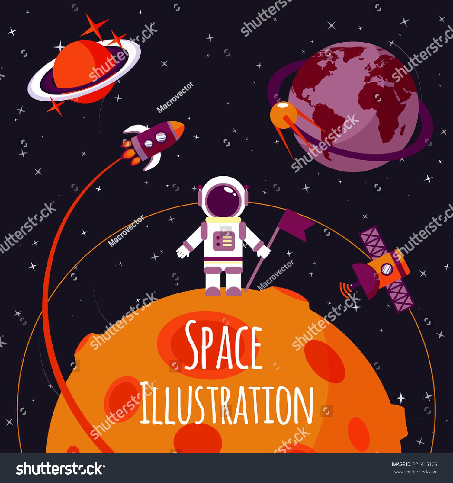 rocket space suit illustrations - photo #35