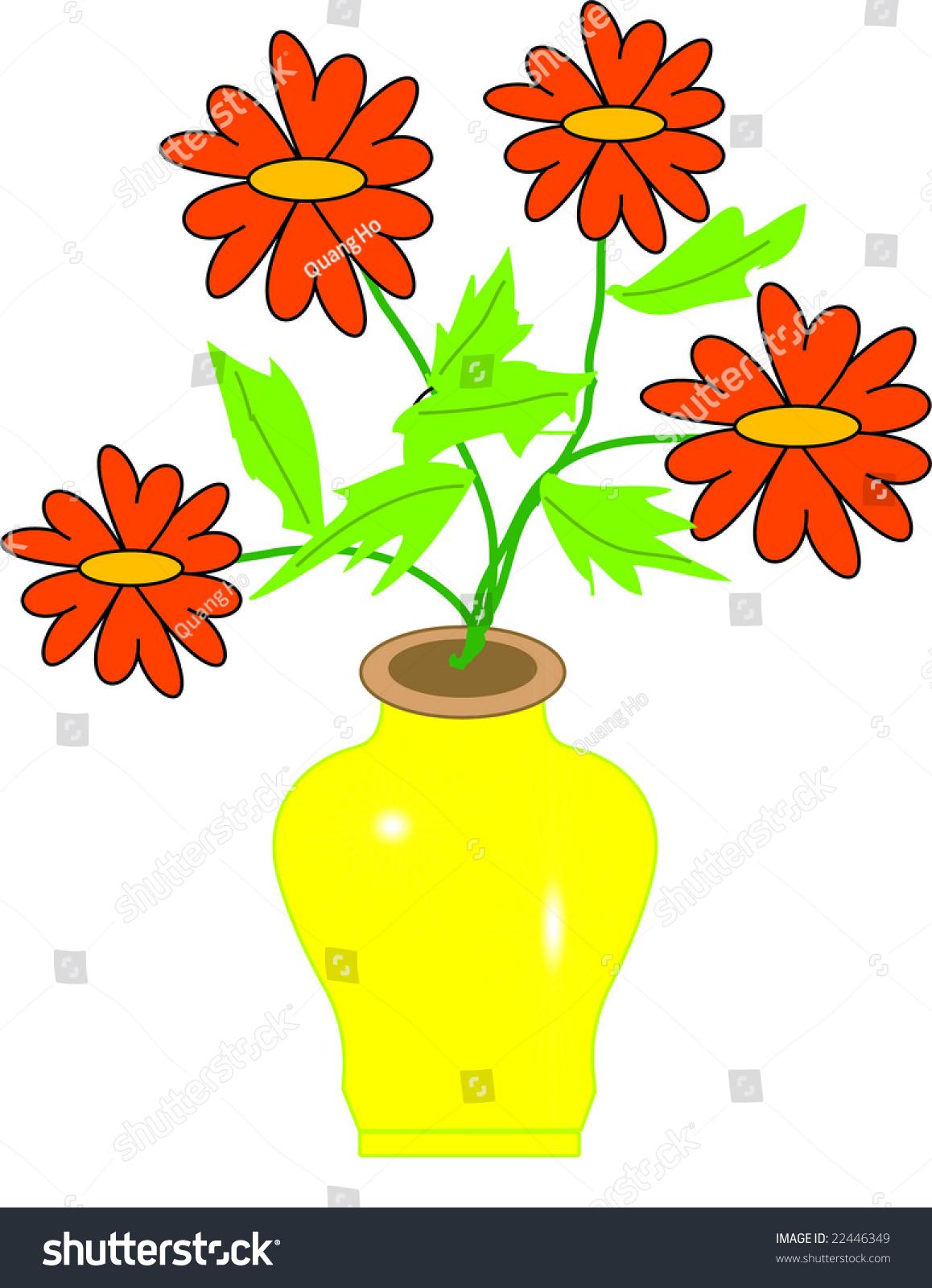 Apply on drawing flower vase stock illustration 22446349 apply on drawing flower vase reviewsmspy