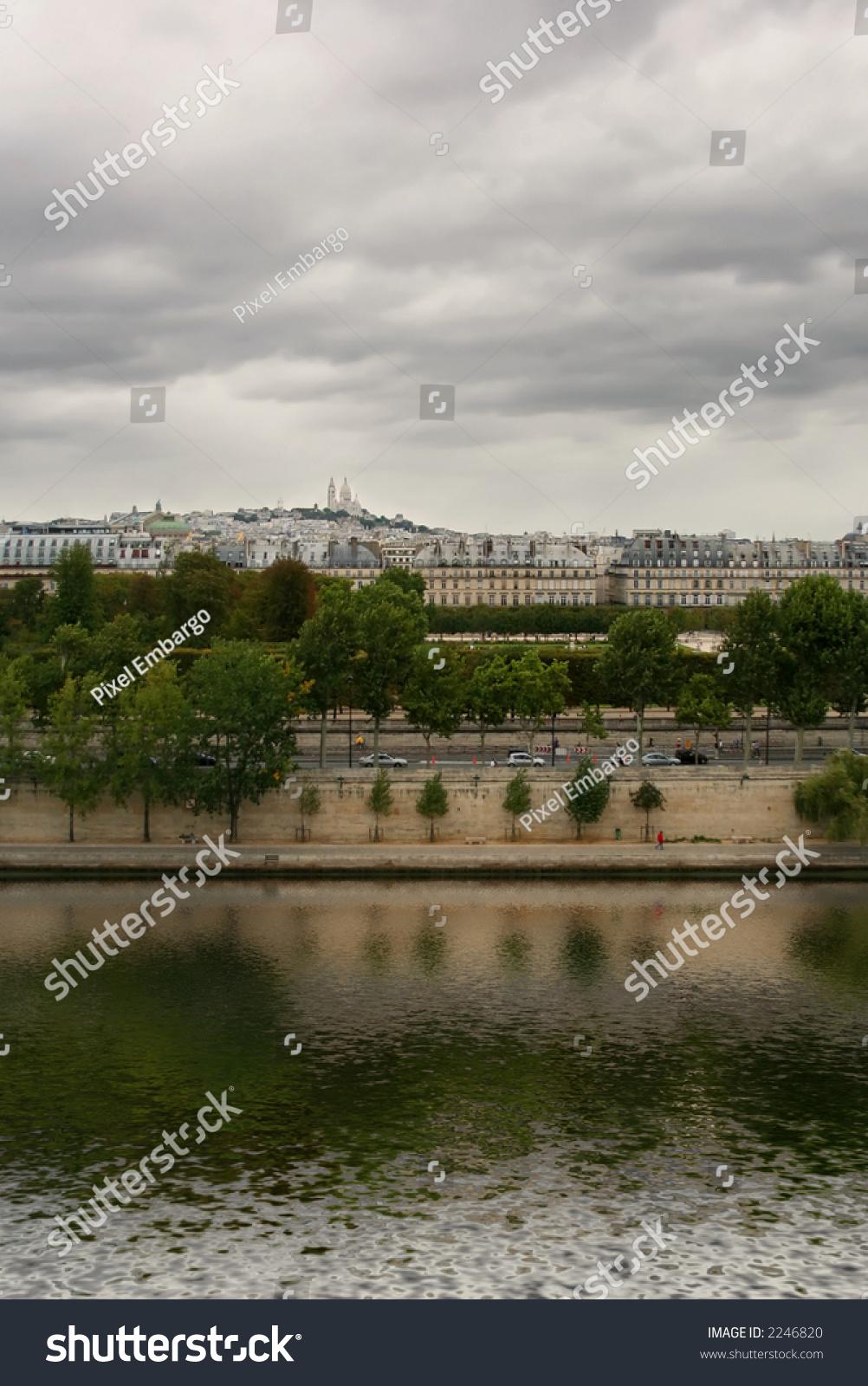Seine River Quay Paris France Stock Photo Edit Now 2246820