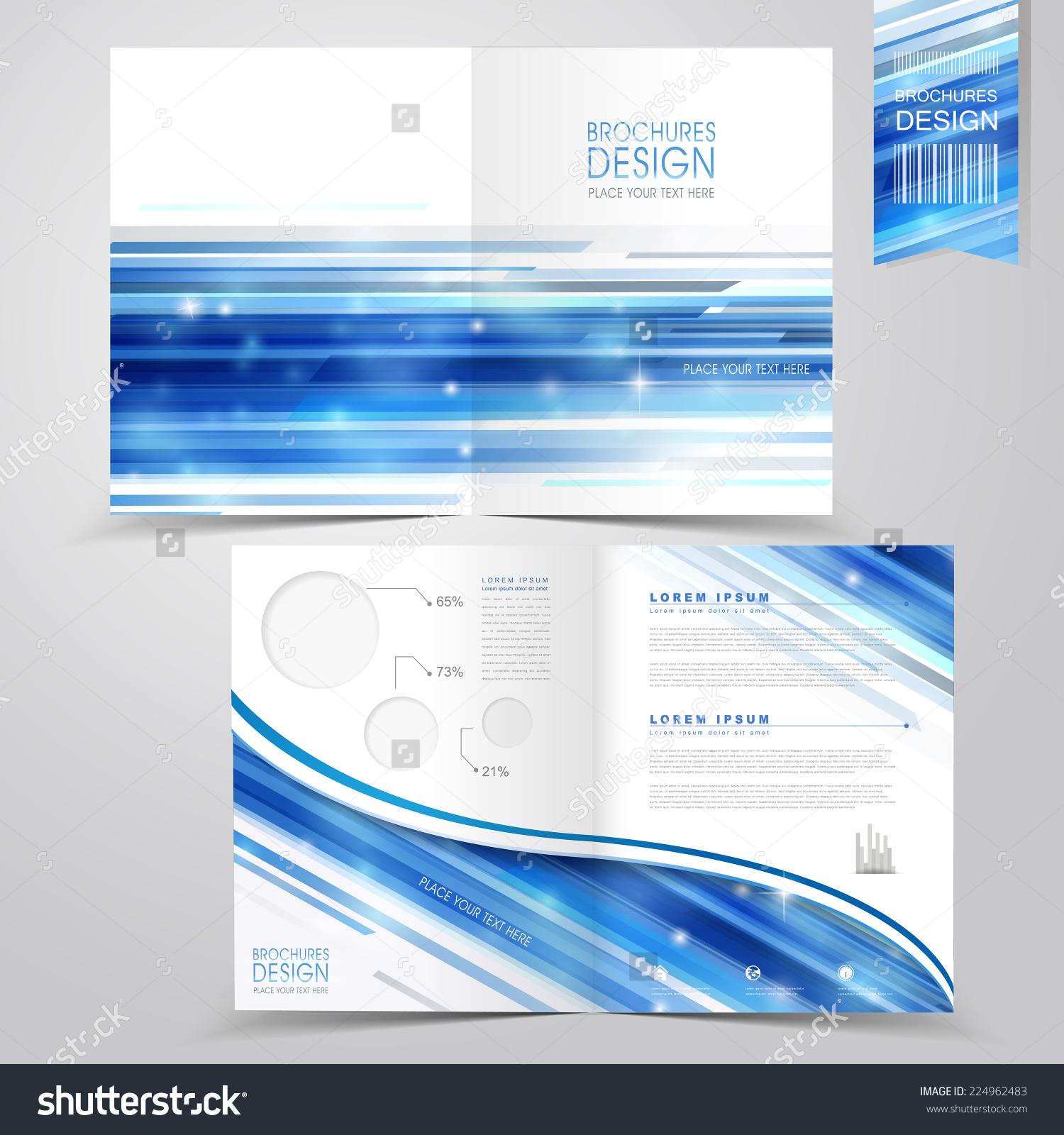 half fold brochure template word