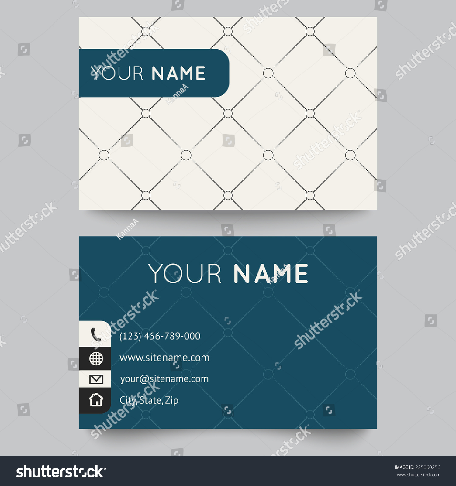 editable credit card template