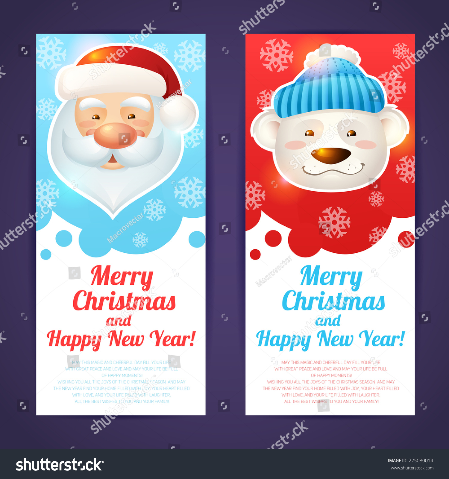 happy new year 2015 card template vector illustration ez canvas