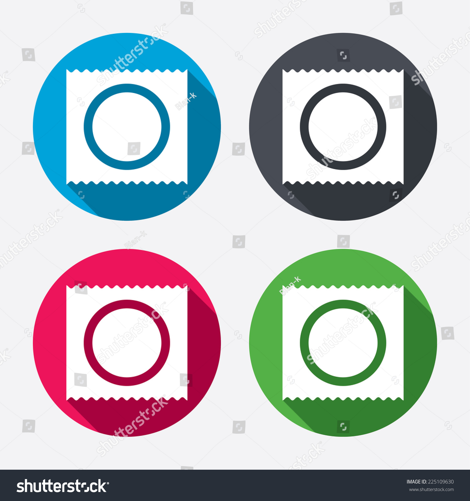 Condom package safe sex sign icon stock vector 225109630 condom in package safe sex sign icon safe love symbol circle buttons with long buycottarizona