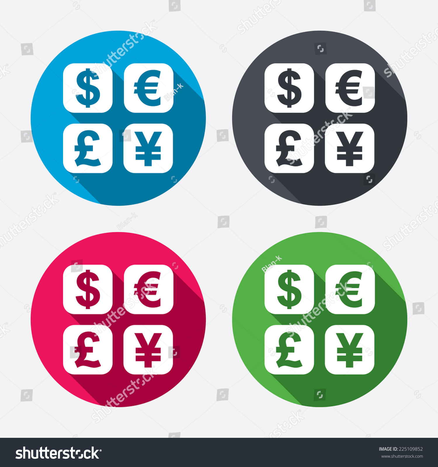Currency exchange sign icon currency converter stock vector currency exchange sign icon currency converter symbol money label circle buttons with long biocorpaavc Gallery