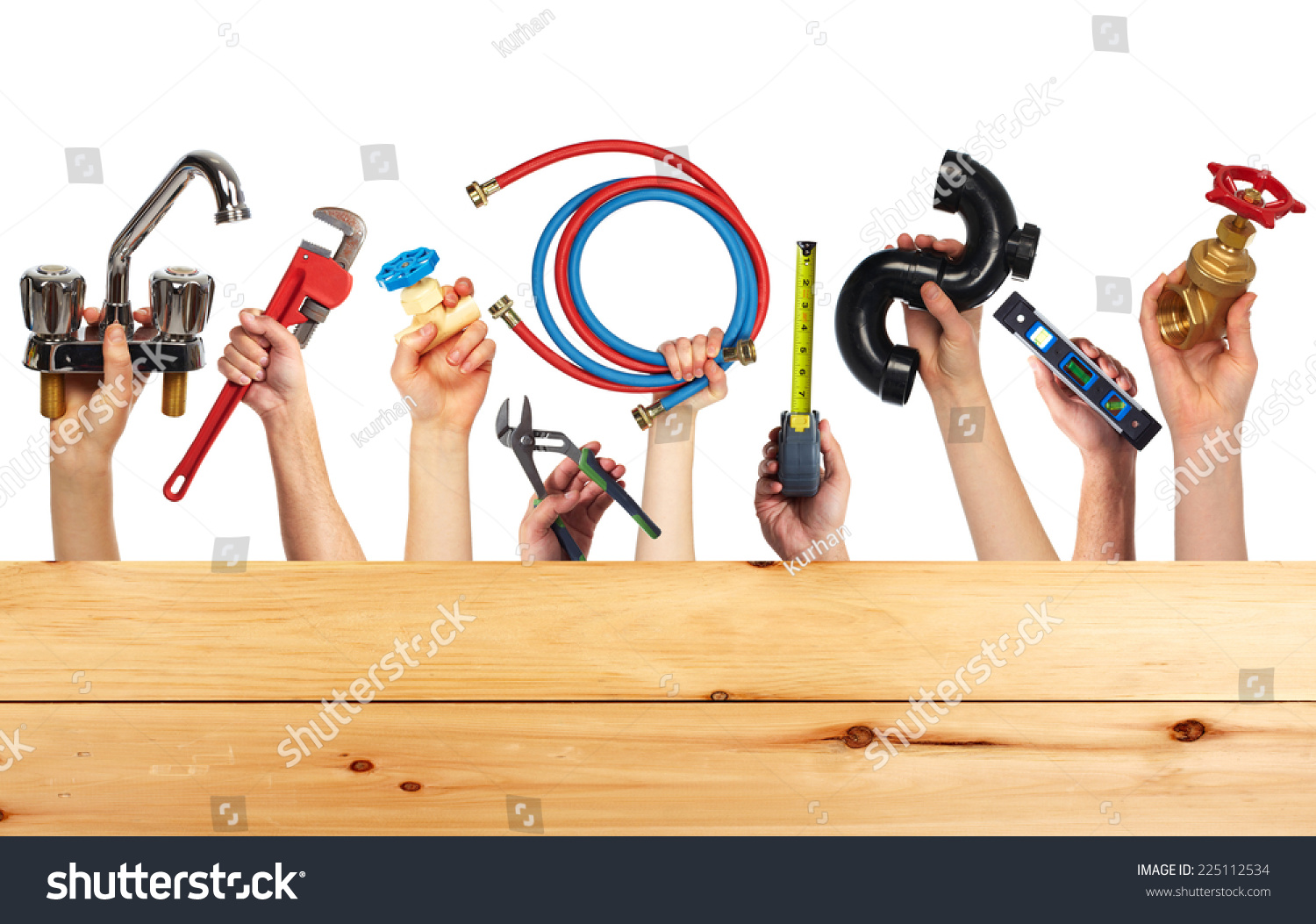 Set Of Construction Tools House Renovation Background
