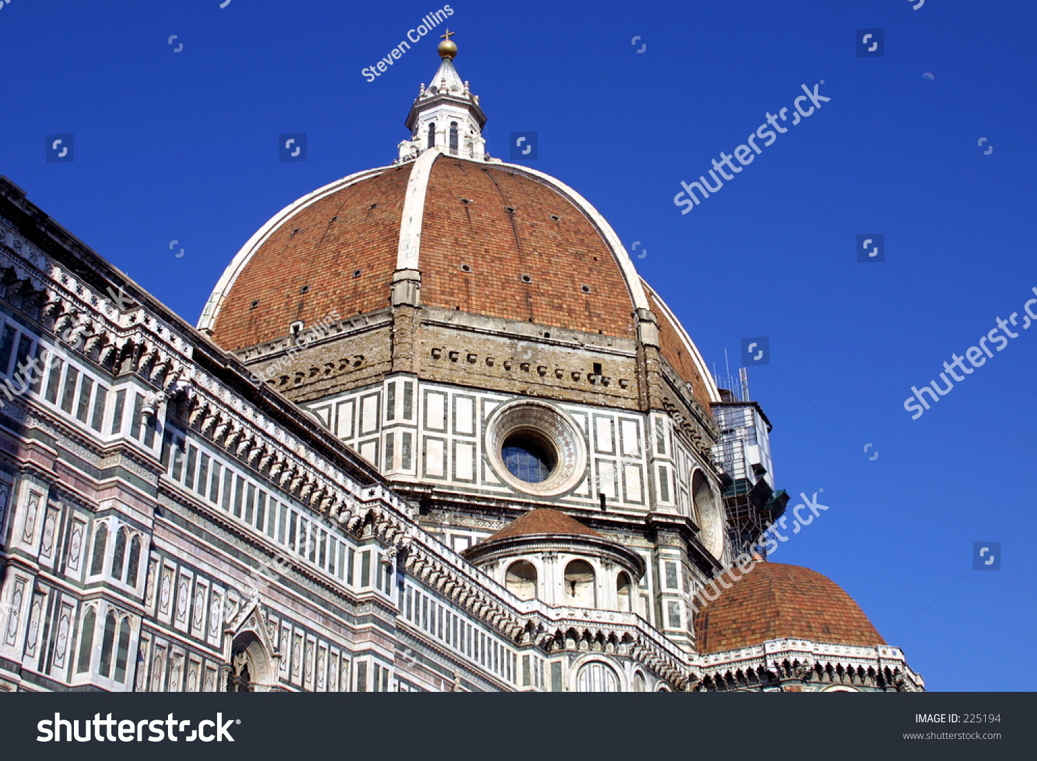 Florence Dome: Florence Italy Dome Stock Photo 225194