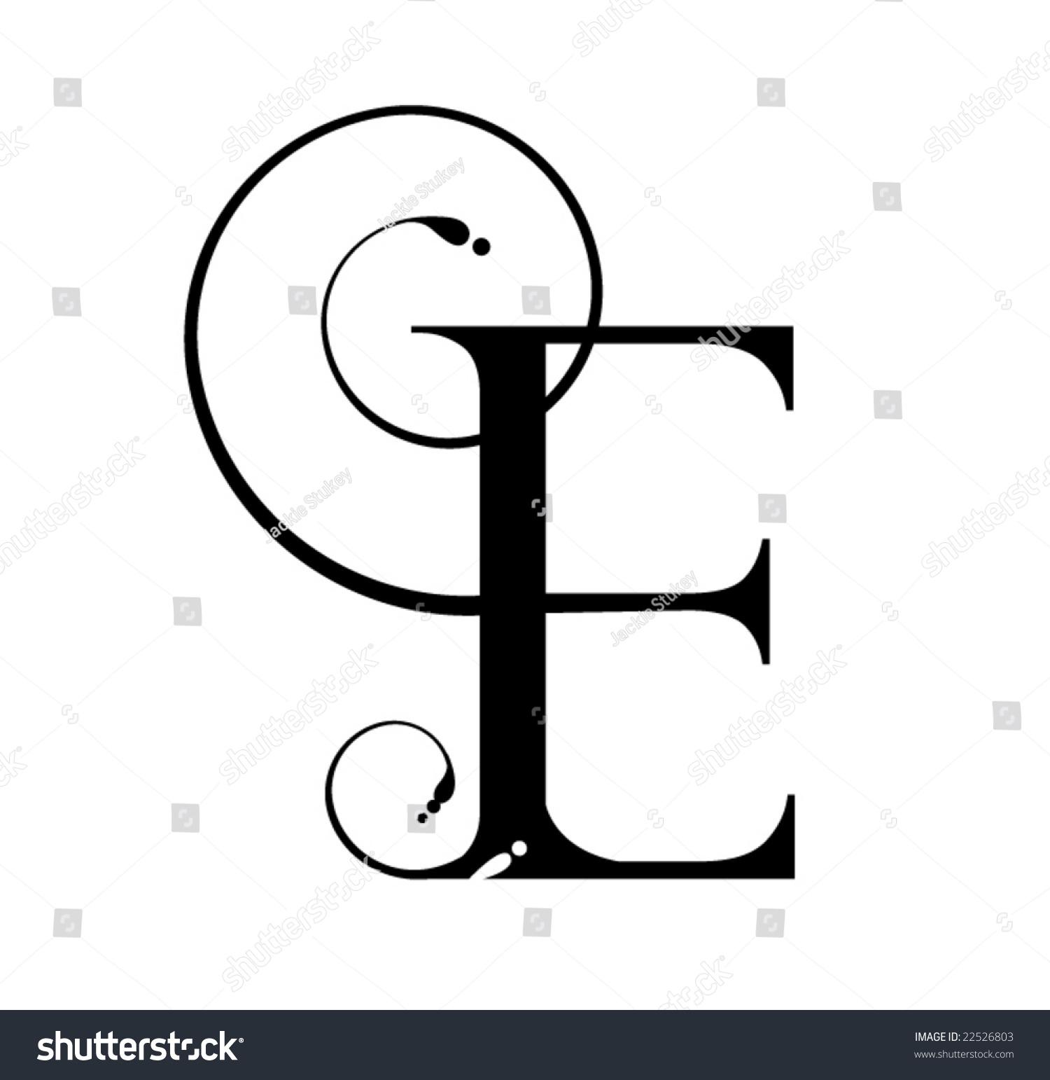 Letter E Stock Photo 22526803 Avopixcom