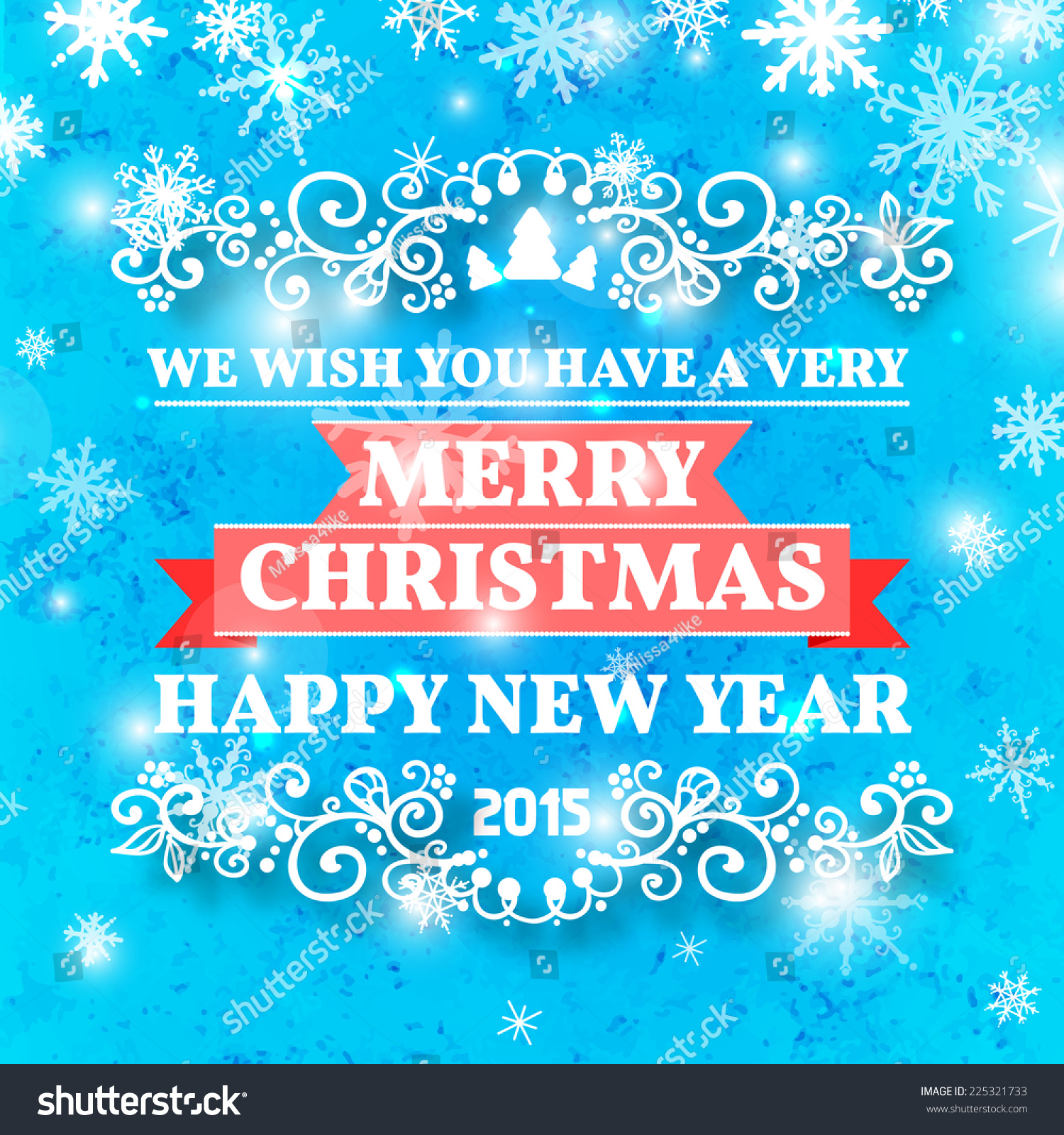 Christmas Card Ornament Decoration Background. Vector ...