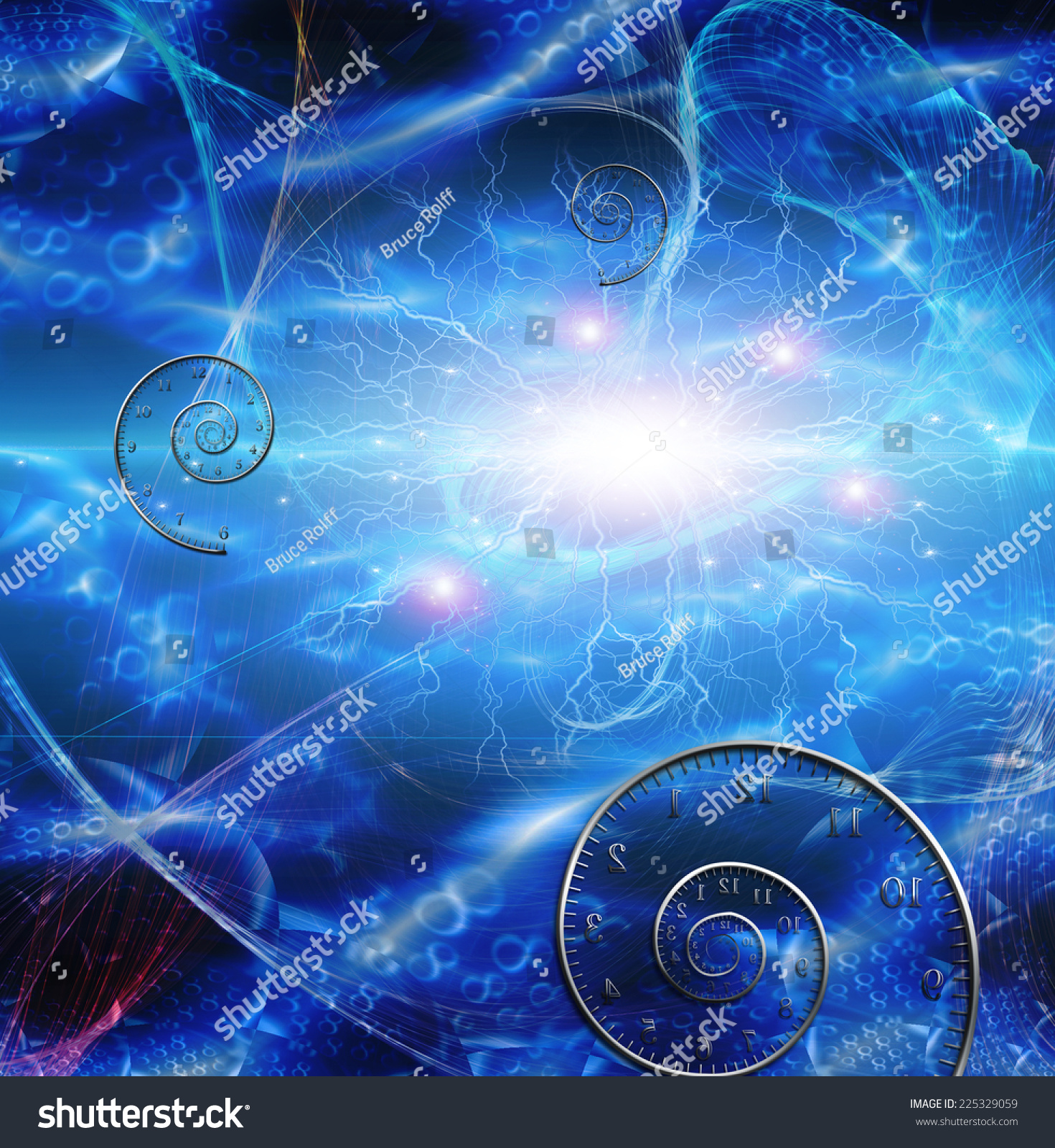 Time space fabric stock photo 225329059 shutterstock for Space is fabric
