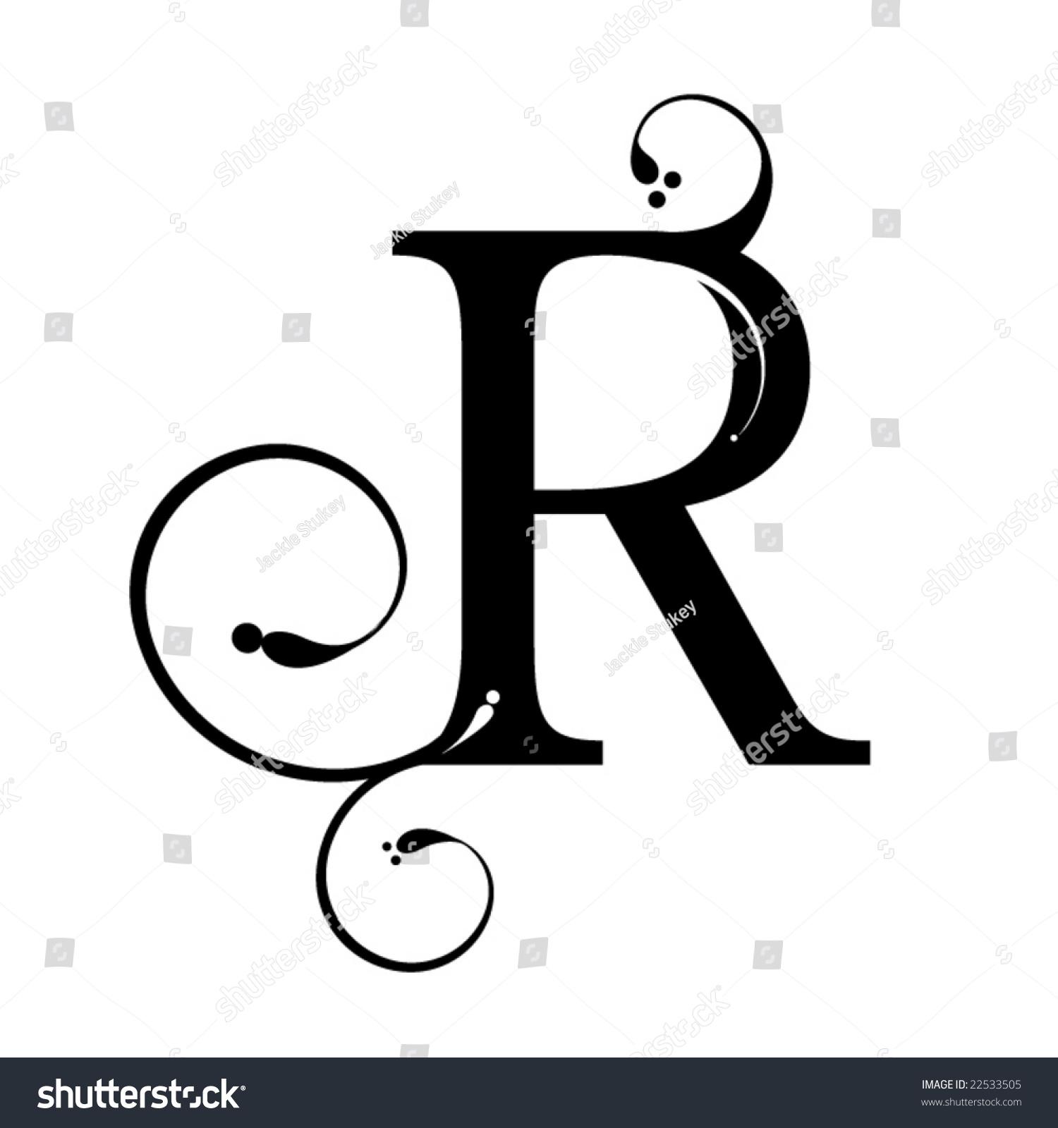 Letter R Stock Vector 22533505 - Shutterstock