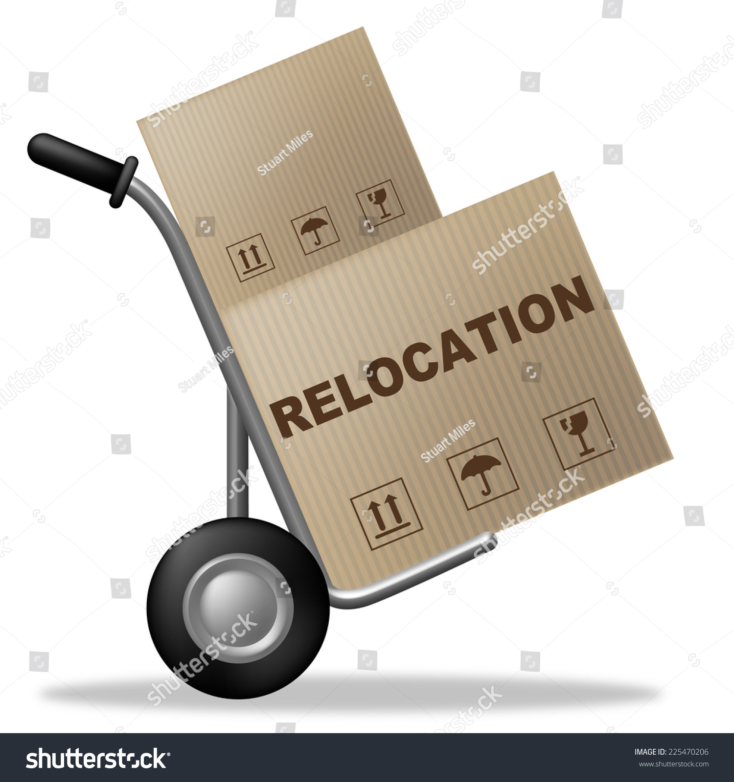 relocation package showing change address moving stock relocation package showing change of address and moving