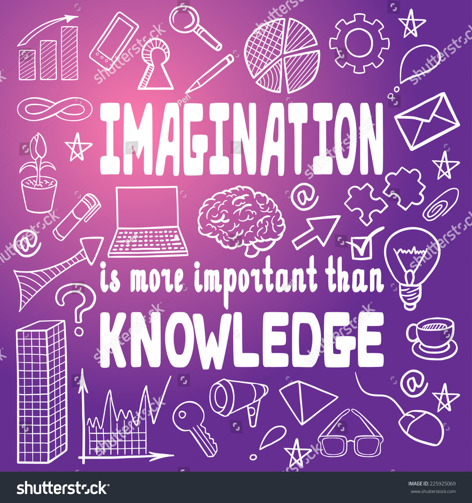 Einstein Quotes Imagination Is More Important Than Knowledge: 'Imagination Is More Important Than Knowledge' By Albert