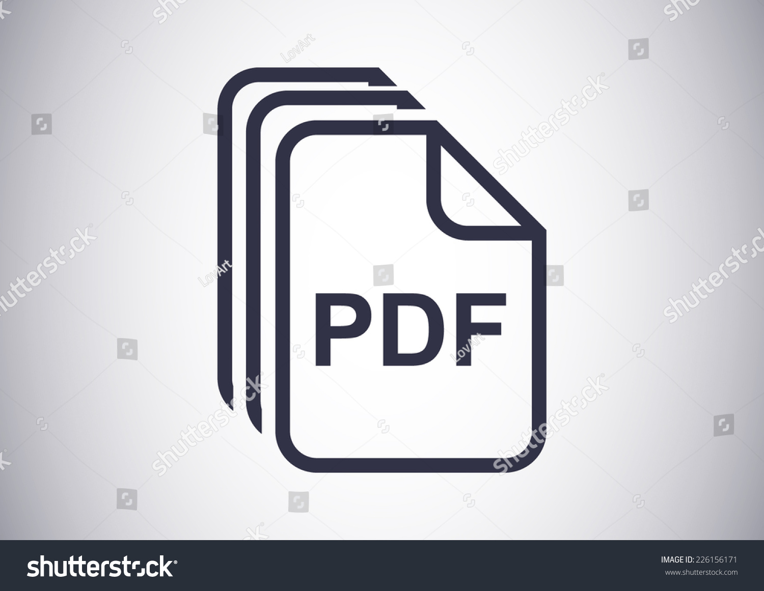 how to fix icon from pic to pdf