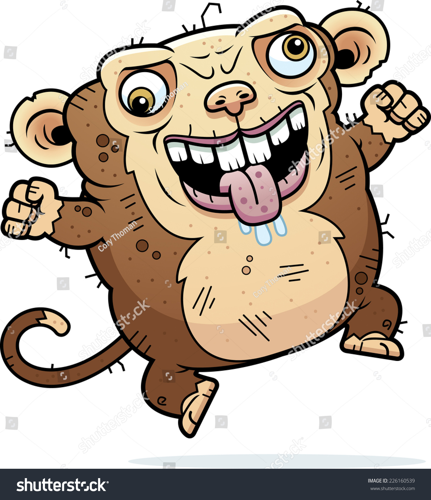 Cartoon Characters Ugly : Crazy monkey clipart imgkid the image kid has it