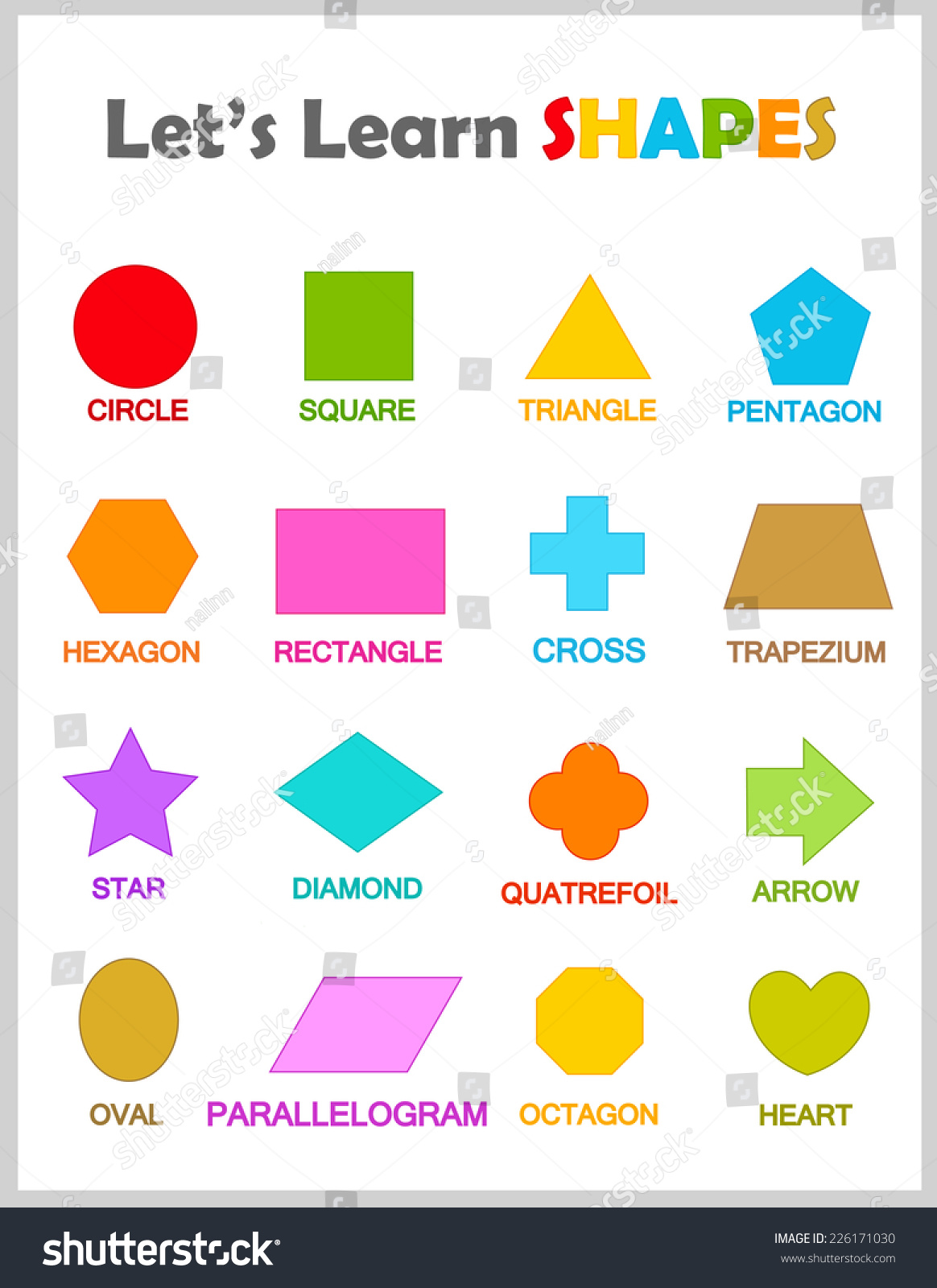 Printables Shapes And Names shapes and names scalien with scalien