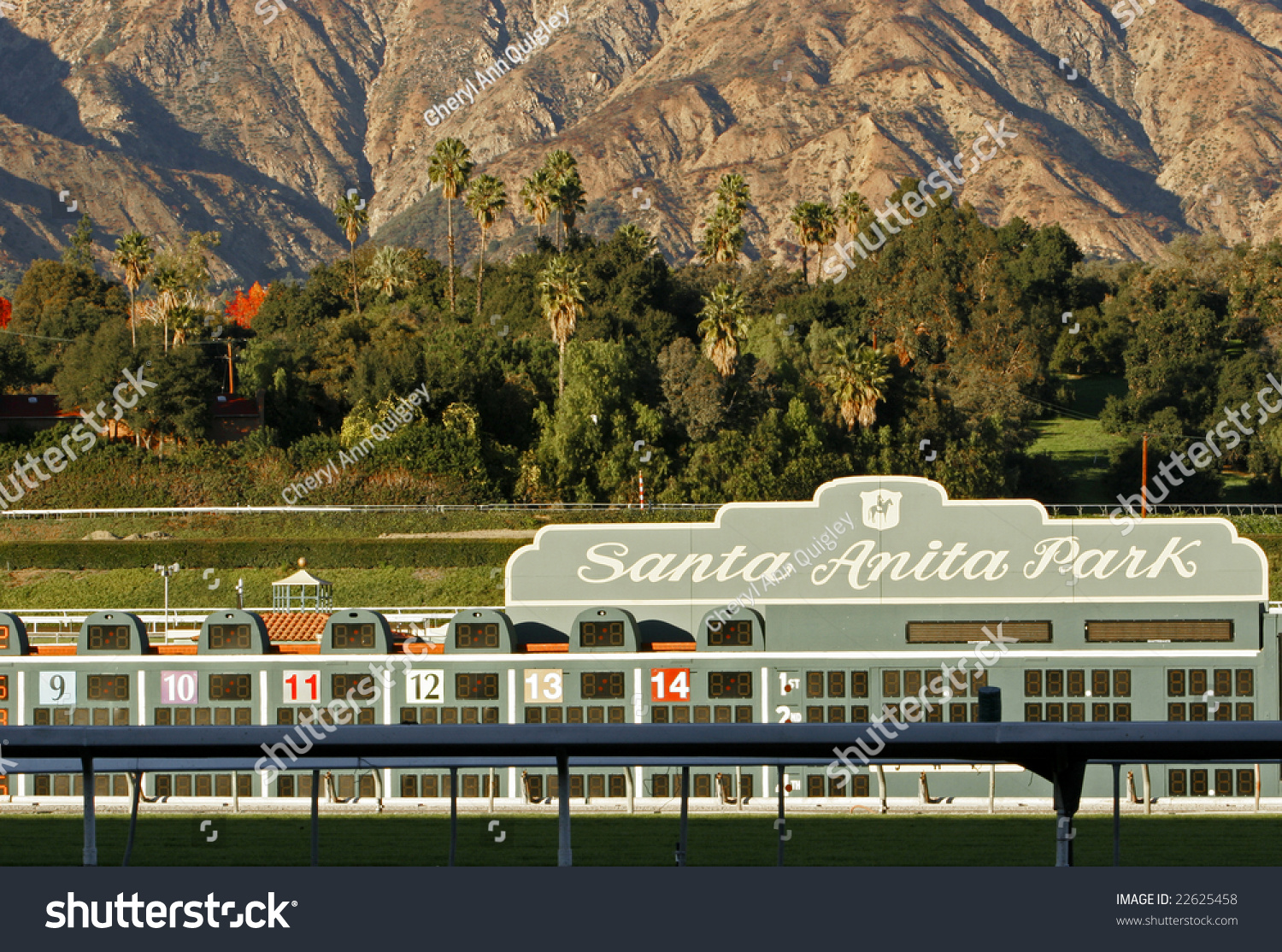 Arcadia Ca Dec 28 Santa Anita Park And The San Gabriel