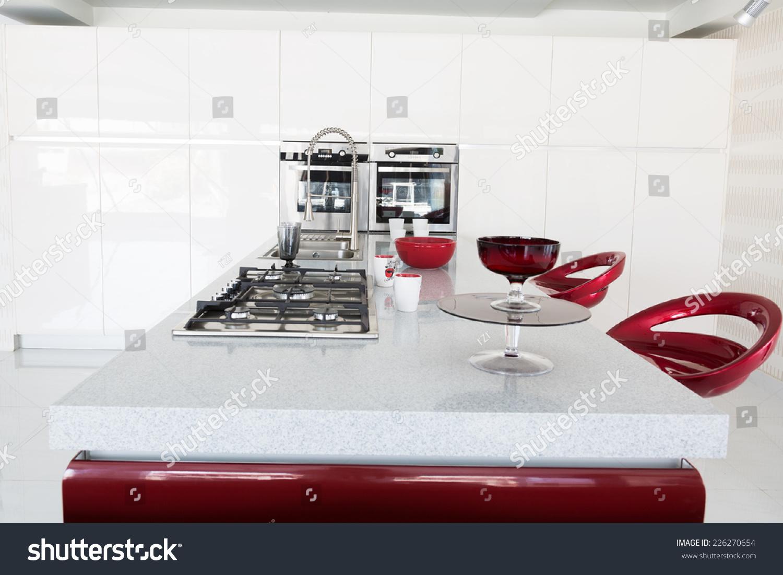 Modern Kitchen Set Stock Photo Edit Now 226270654 Shutterstock