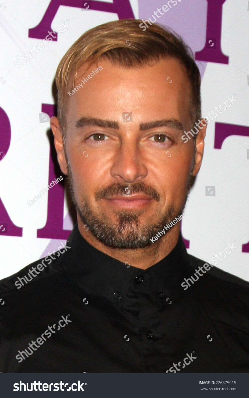 Los Angeles Oct 25 Joey Lawrence Stock Photo Edit Now 226375015