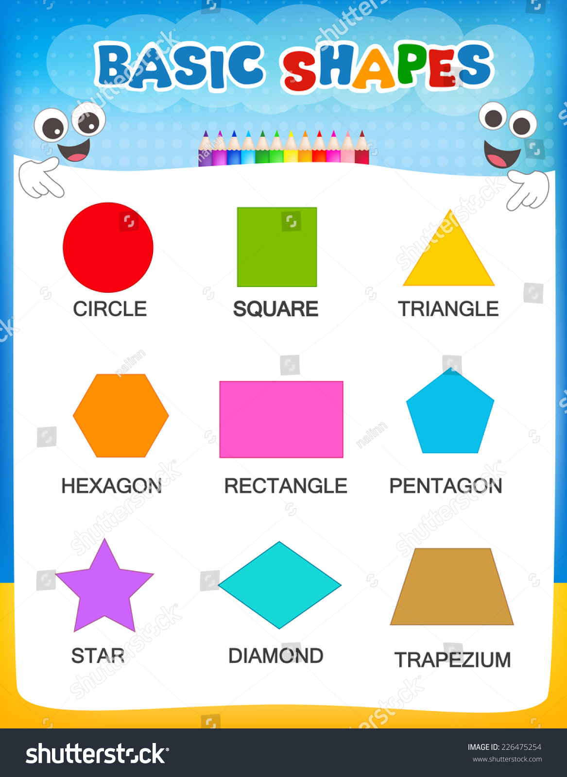 worksheet shapes and their names discoverymuseumwv worksheets for elementary school free and. Black Bedroom Furniture Sets. Home Design Ideas