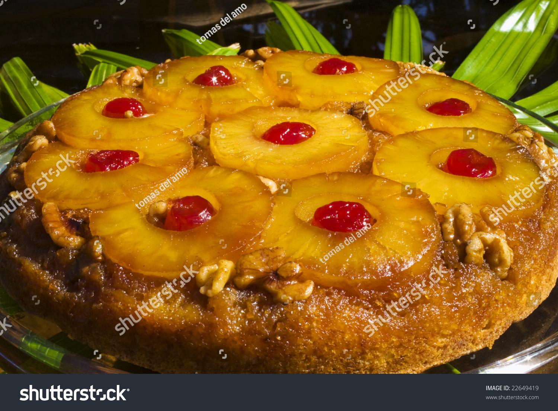 Пирог на кефире с ананасами консервированными рецепт