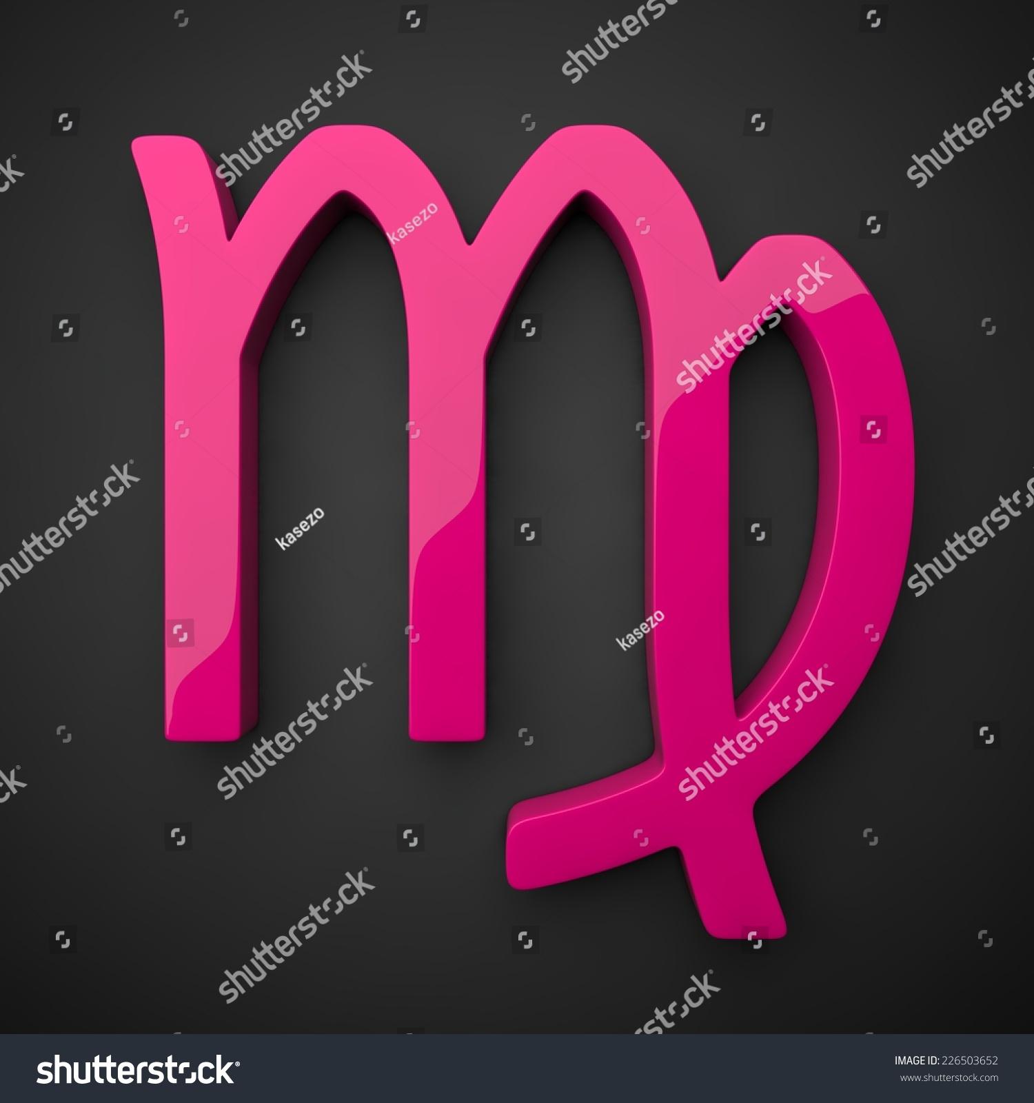 Female Virgo Sign Stock Illustration 226503652 - Shutterstock