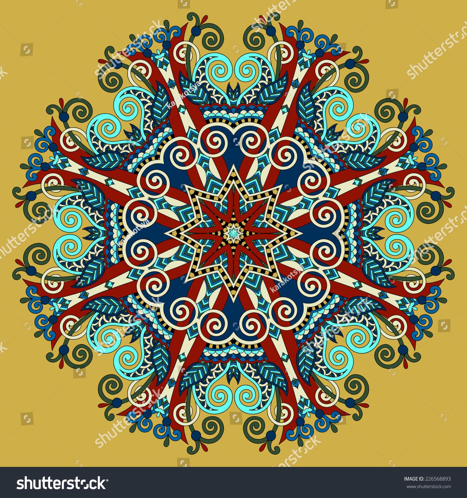 Mandala circle decorative spiritual indian symbol of lotus flower id 226568893 mightylinksfo