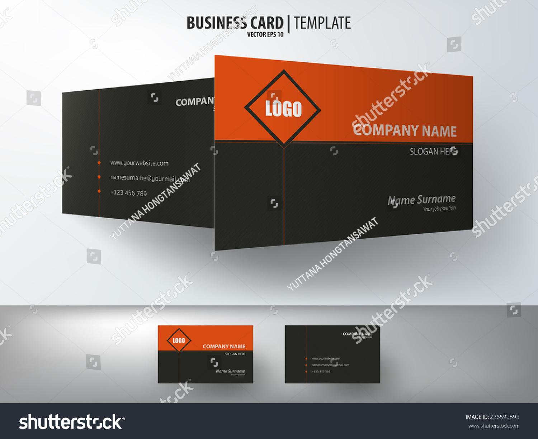 Black orange business card template patterned stock vector 226592593 black orange business card template patterned stock vector 226592593 shutterstock colourmoves