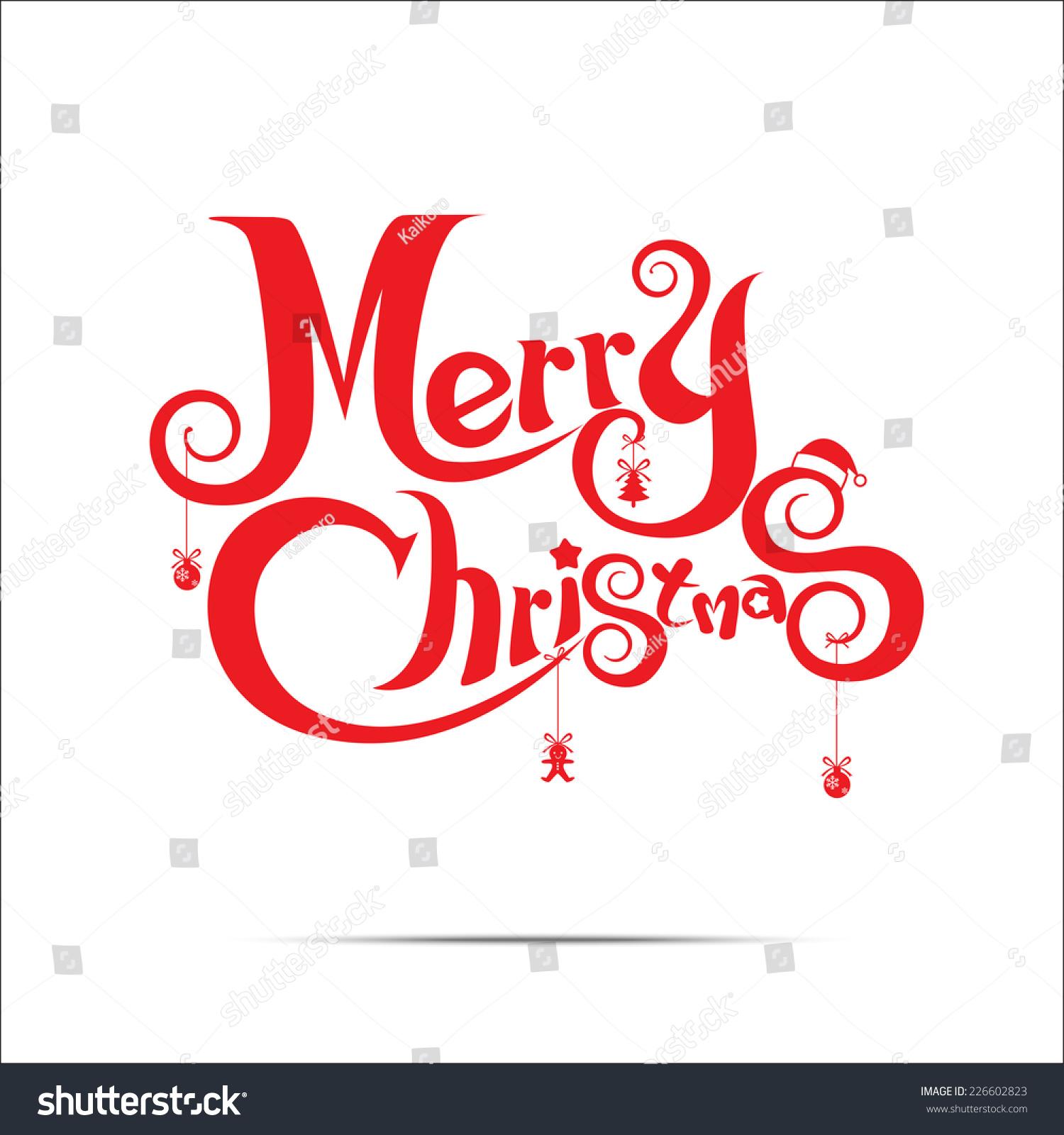 White Christmas Text