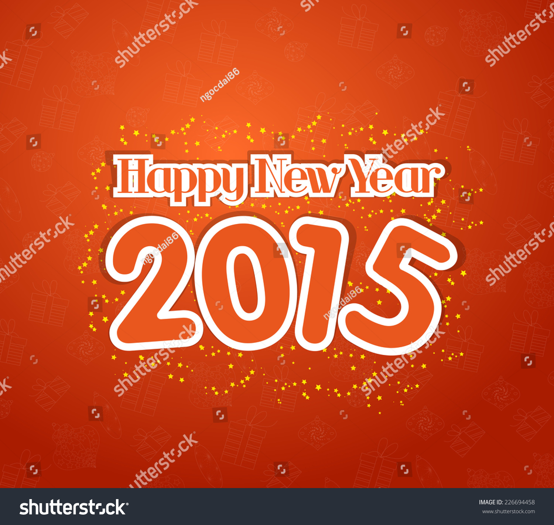 Happy new year 2015 greetings stock illustration 226694458 happy new year 2015 greetings kristyandbryce Gallery