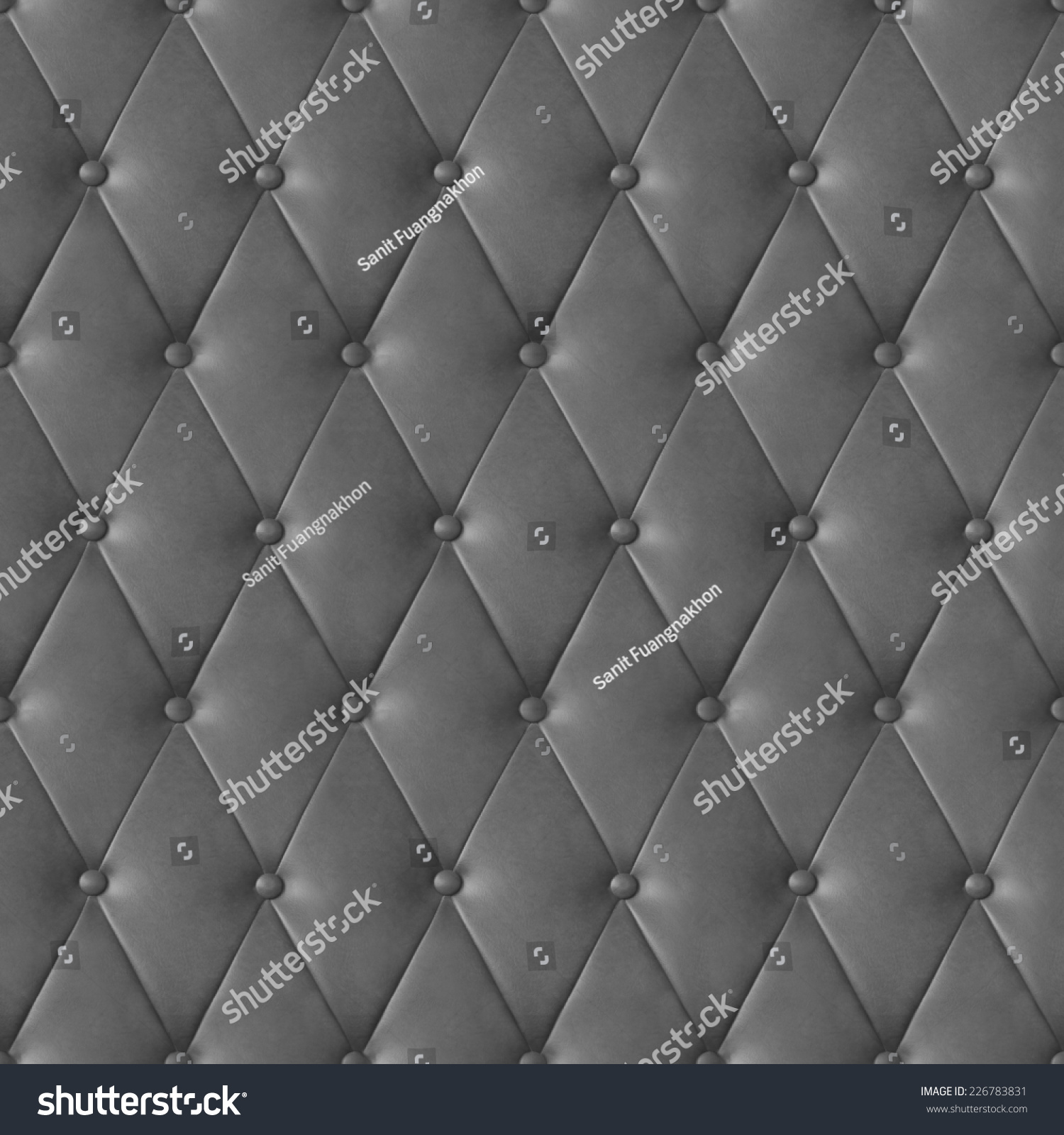 Black leather chair texture - Photo Rectangle Diamond Stitched Leather Furniture Seamless Pattern For Background Or Texture