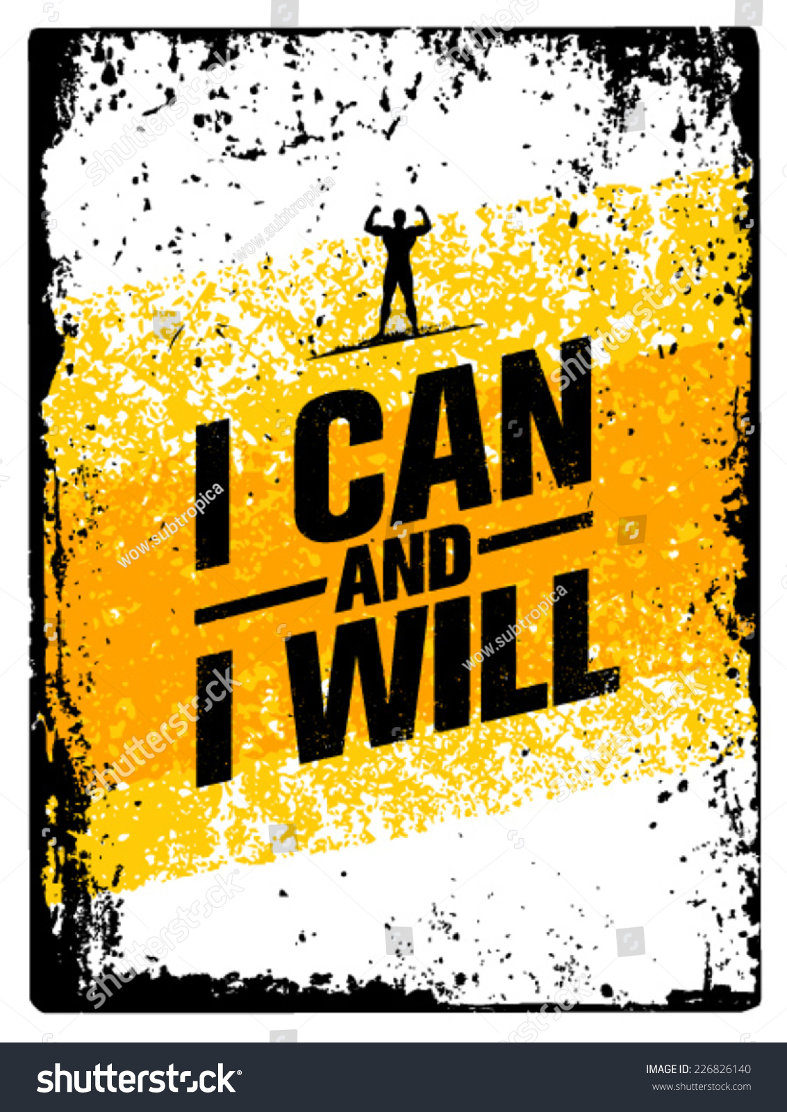 Can I Use A Computer During A Storm: I Can And I Will. Workout And Fitness Motivation Quote