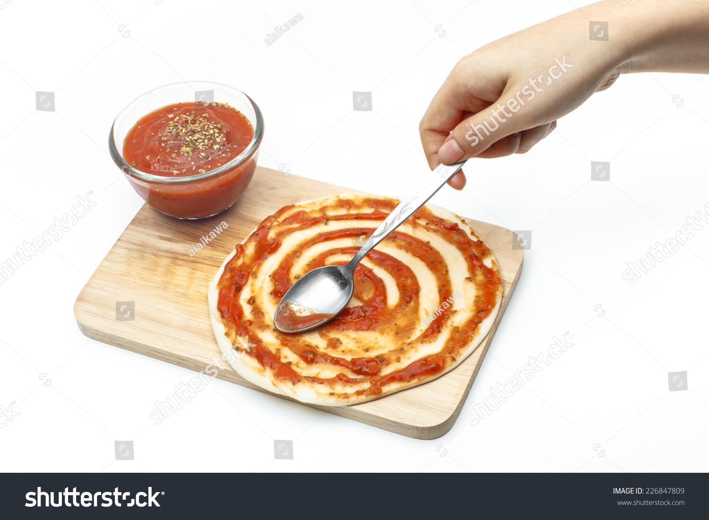 тесто на пиццу в картинках