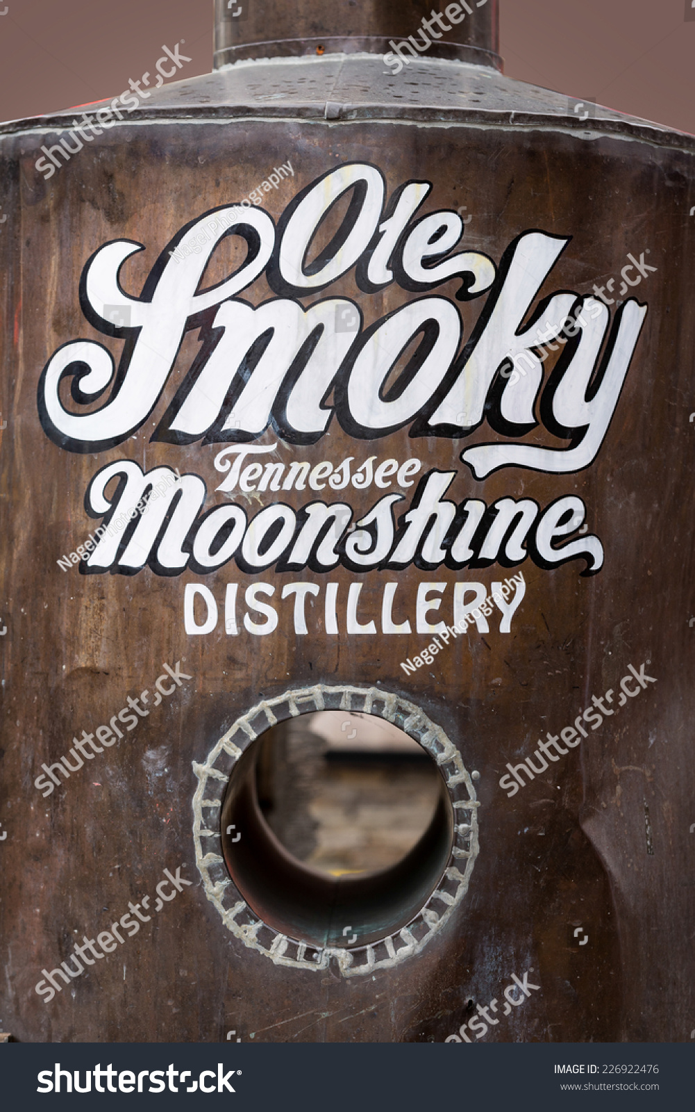 Gatlinburg Tennessee October 20 Ole Smoky Stock Photo ...