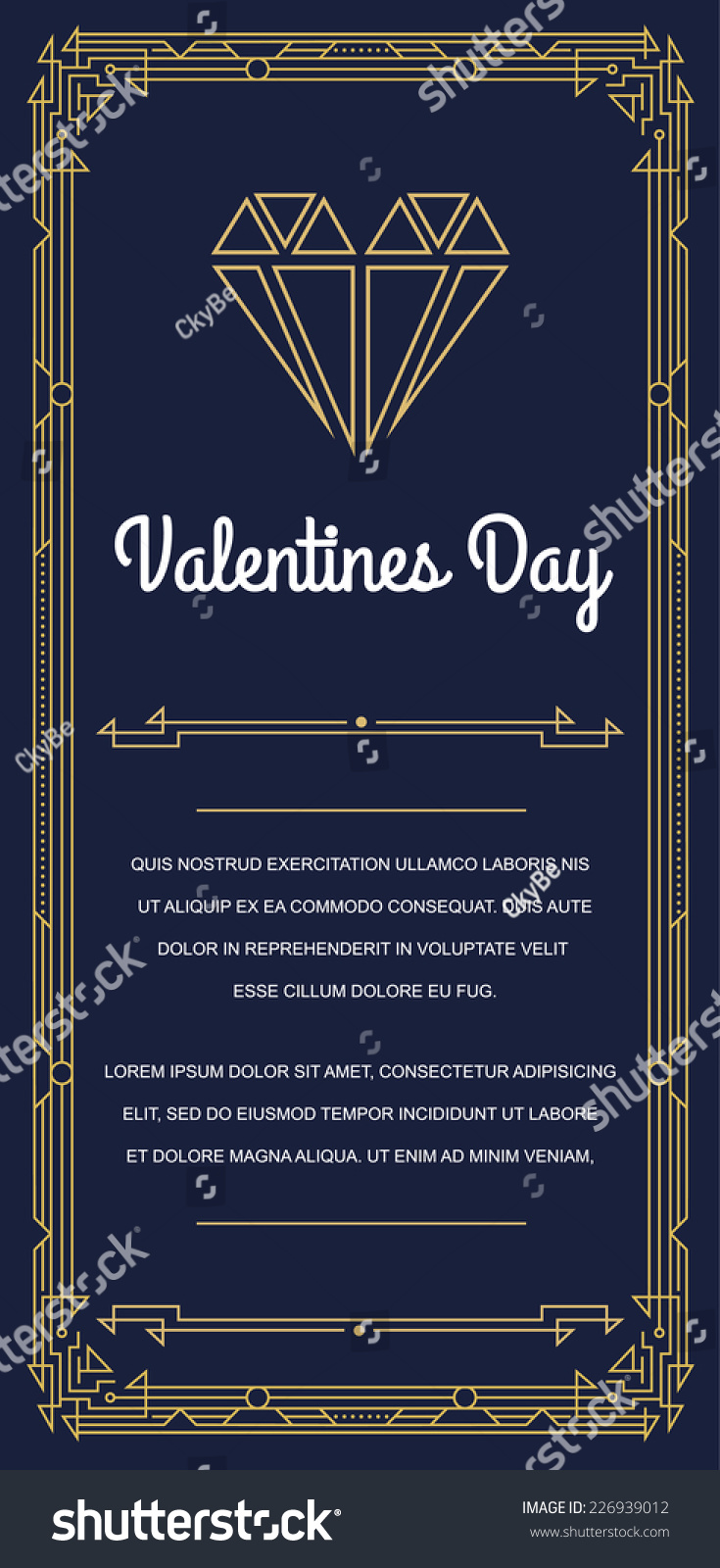 Great vintage invitation sign art deco stock vector 226939012 great vintage invitation sign in art deco or nouveau epoch 1920s gangster era vector to valentines stopboris Image collections