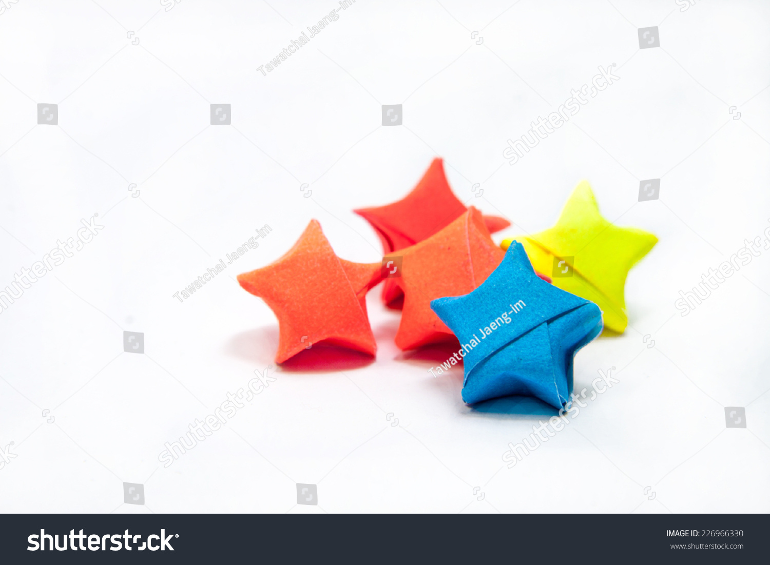 origami Lucky Star earrings by CMJOrigami on DeviantArt | 1101x1500