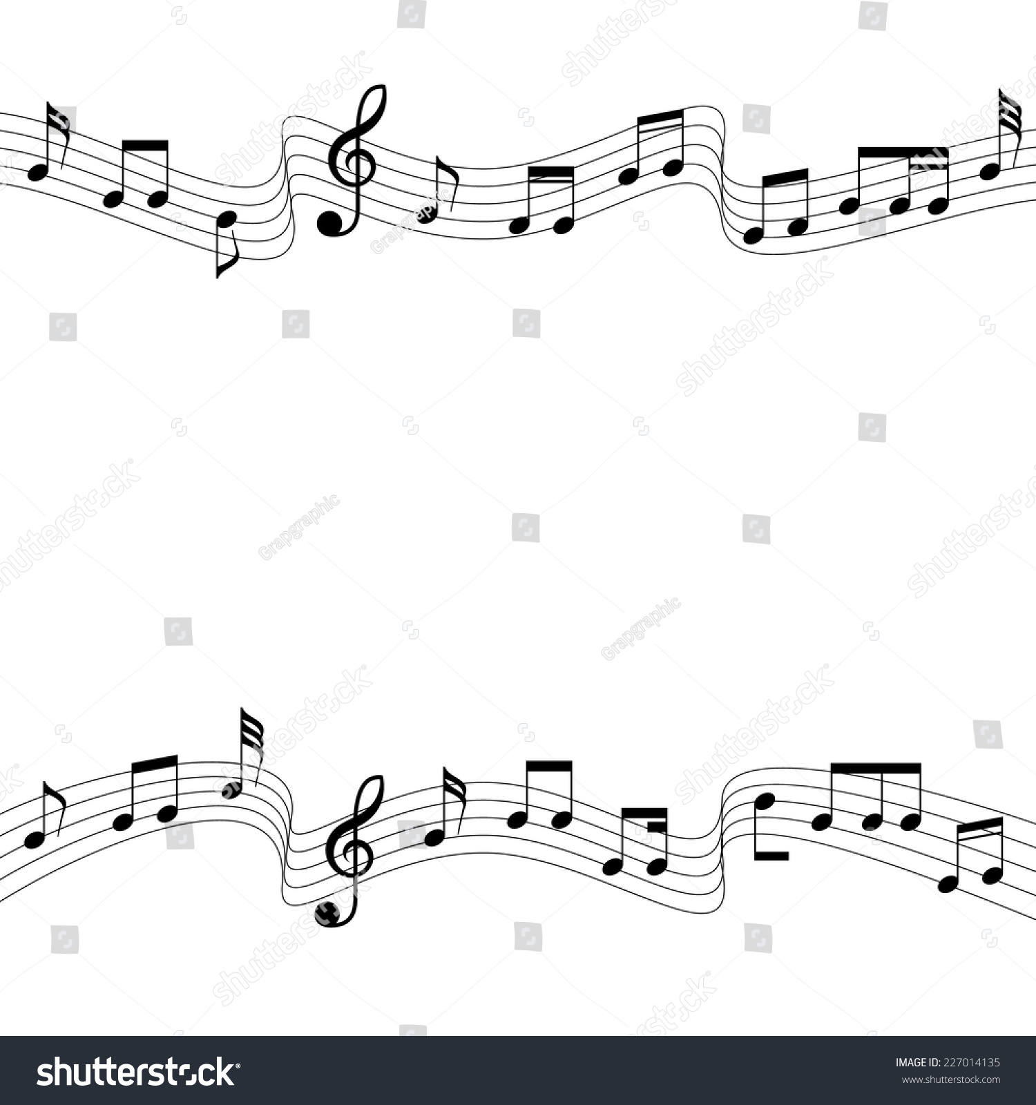 Flowing two musical chords square artboards stock vector 227014135 flowing of two musical chords square artboards a vector illustration hexwebz Image collections