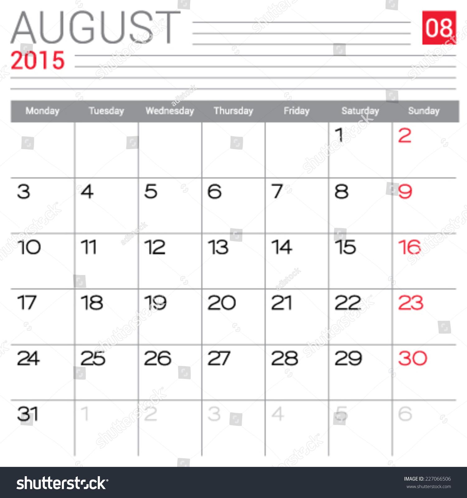 Calendar august 2015 template 147 best calendar images on pinterest 2016 calendar printable publicscrutiny Image collections