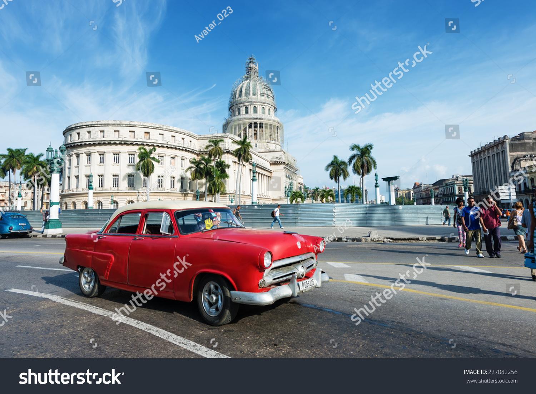 HAVANA CUBA OCTOBER 8 2014 Old Stock Photo & Image (Royalty-Free ...