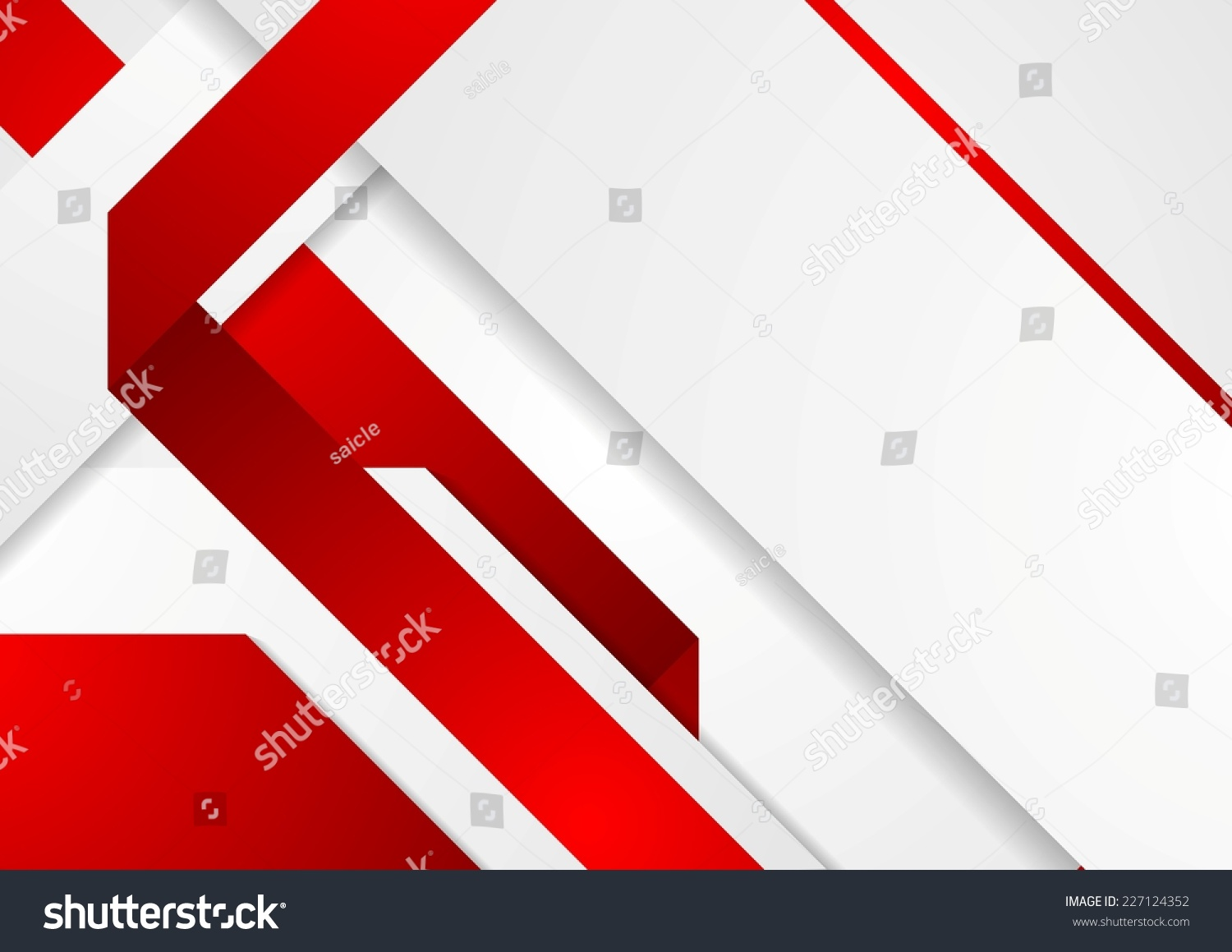 bright tech corporate red white background stock vector