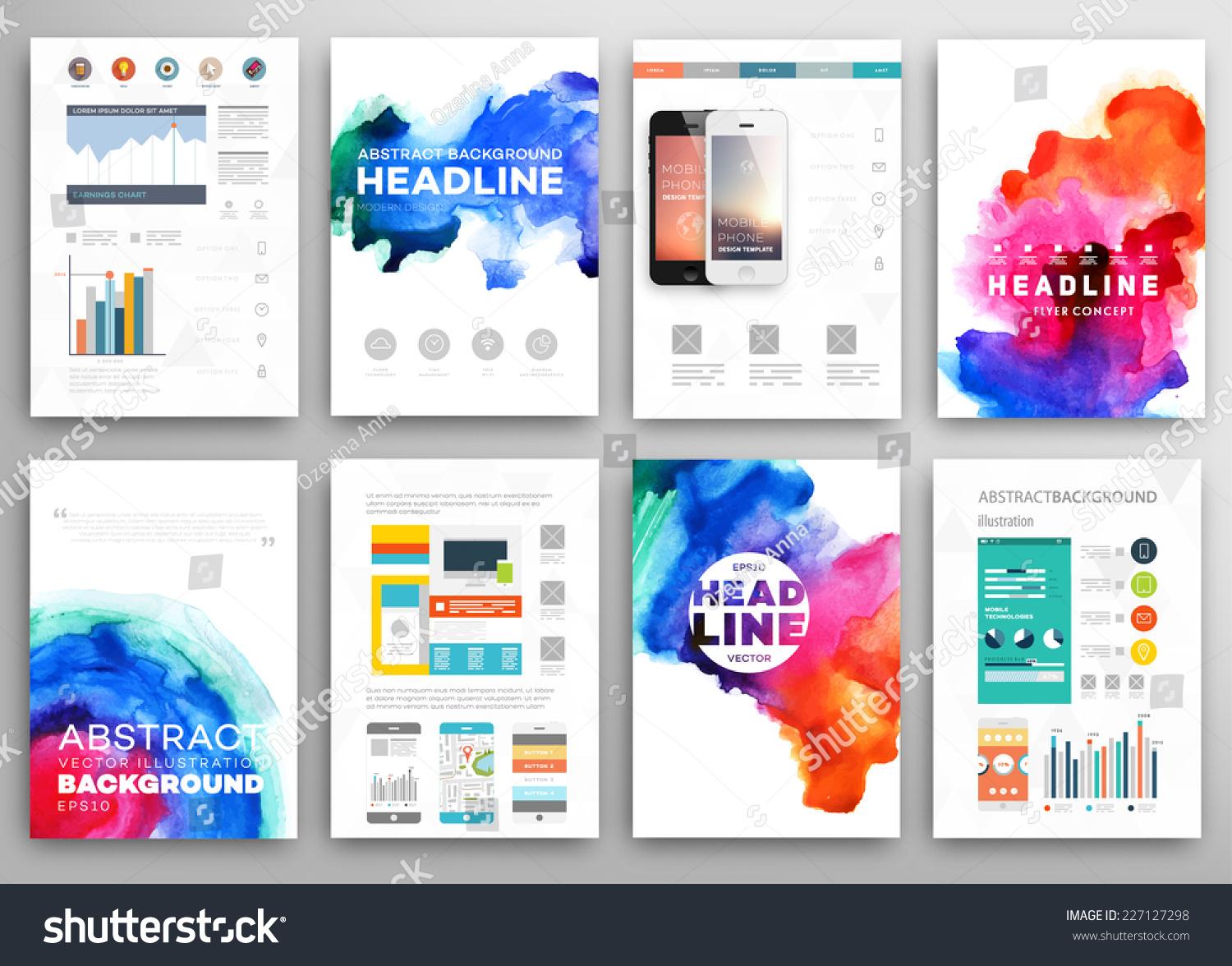 electronic poster templates