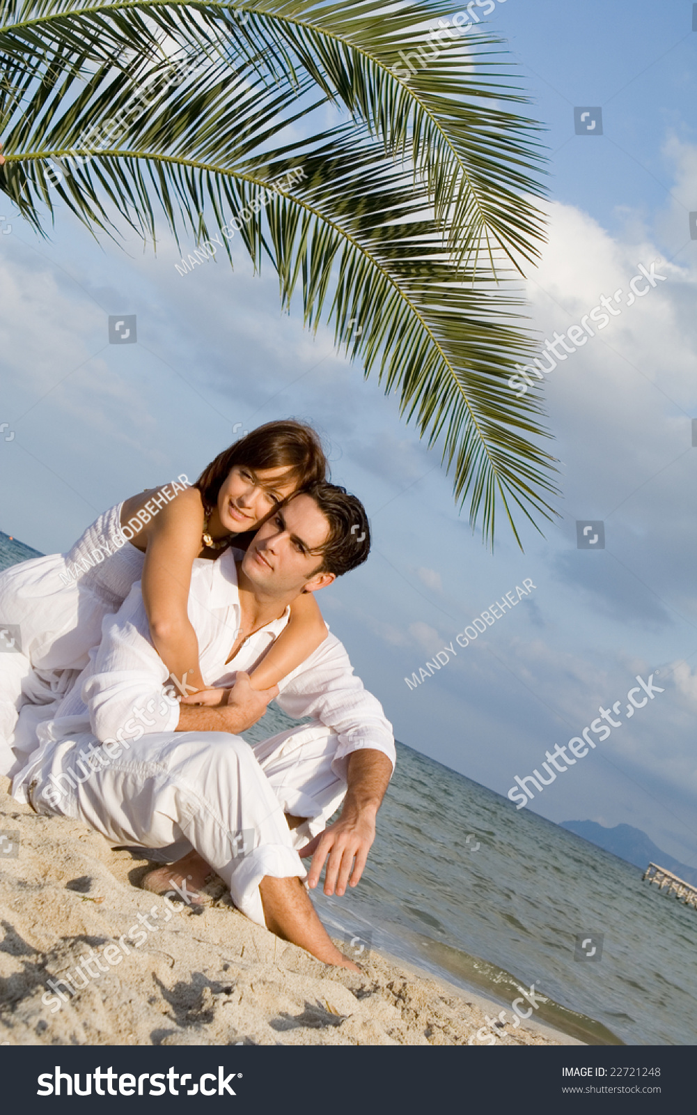 Beautiful couple on vacations stock photo 22721248 for Awesome vacations for couples