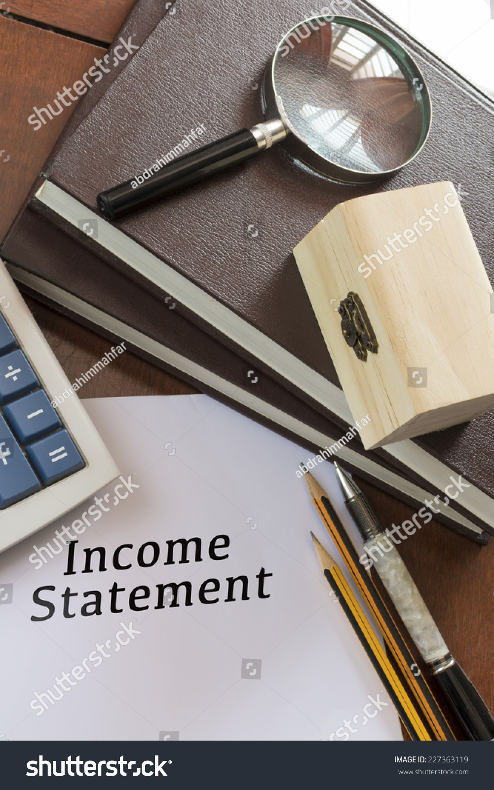 blank income statement
