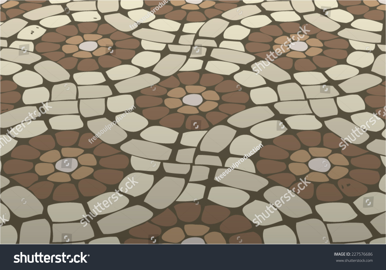 Vector tile mosaic floor stone background stock vector 227576686 vector tile mosaic floor stone background pattern dailygadgetfo Choice Image