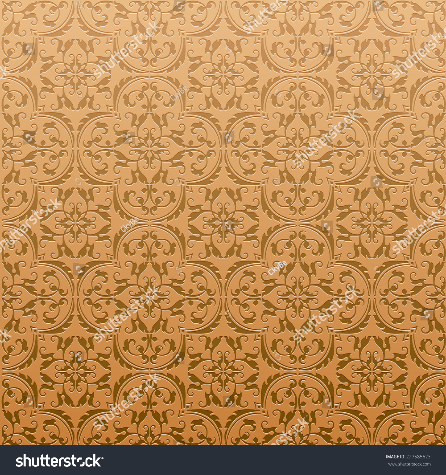 Seamless damask background pattern design wallpaper stock vector seamless damask background pattern design and wallpaper made of turkish texture ceramic tiles in vector dailygadgetfo Choice Image